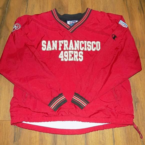 pretty nice 362d1 af6fc Vintage Champion San Francisco 49ers Pullover